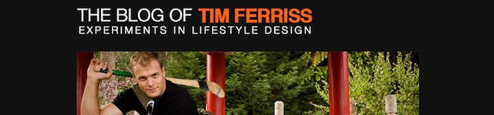 Tim Ferris Blog Tips WordPress